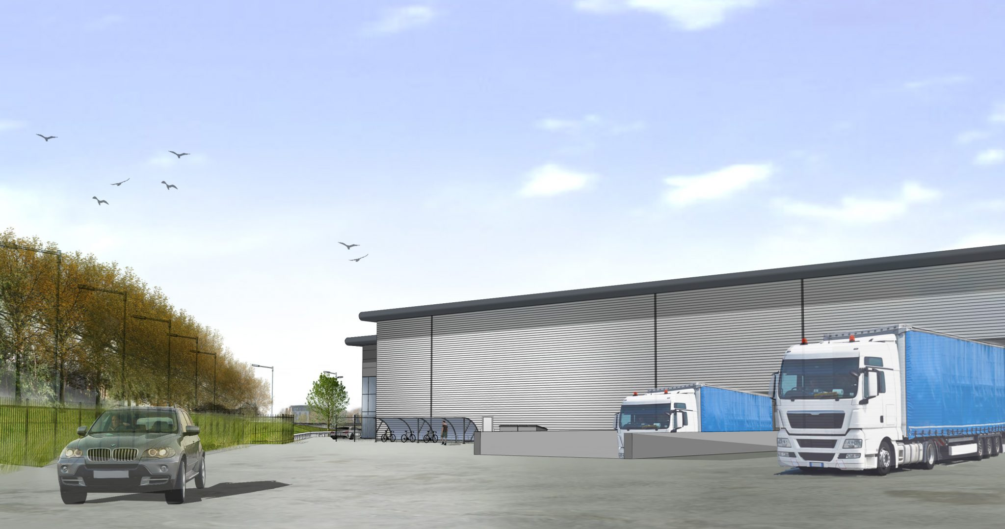Glenny appointed on 68,000 sq. ft. Axion site in Belvedere