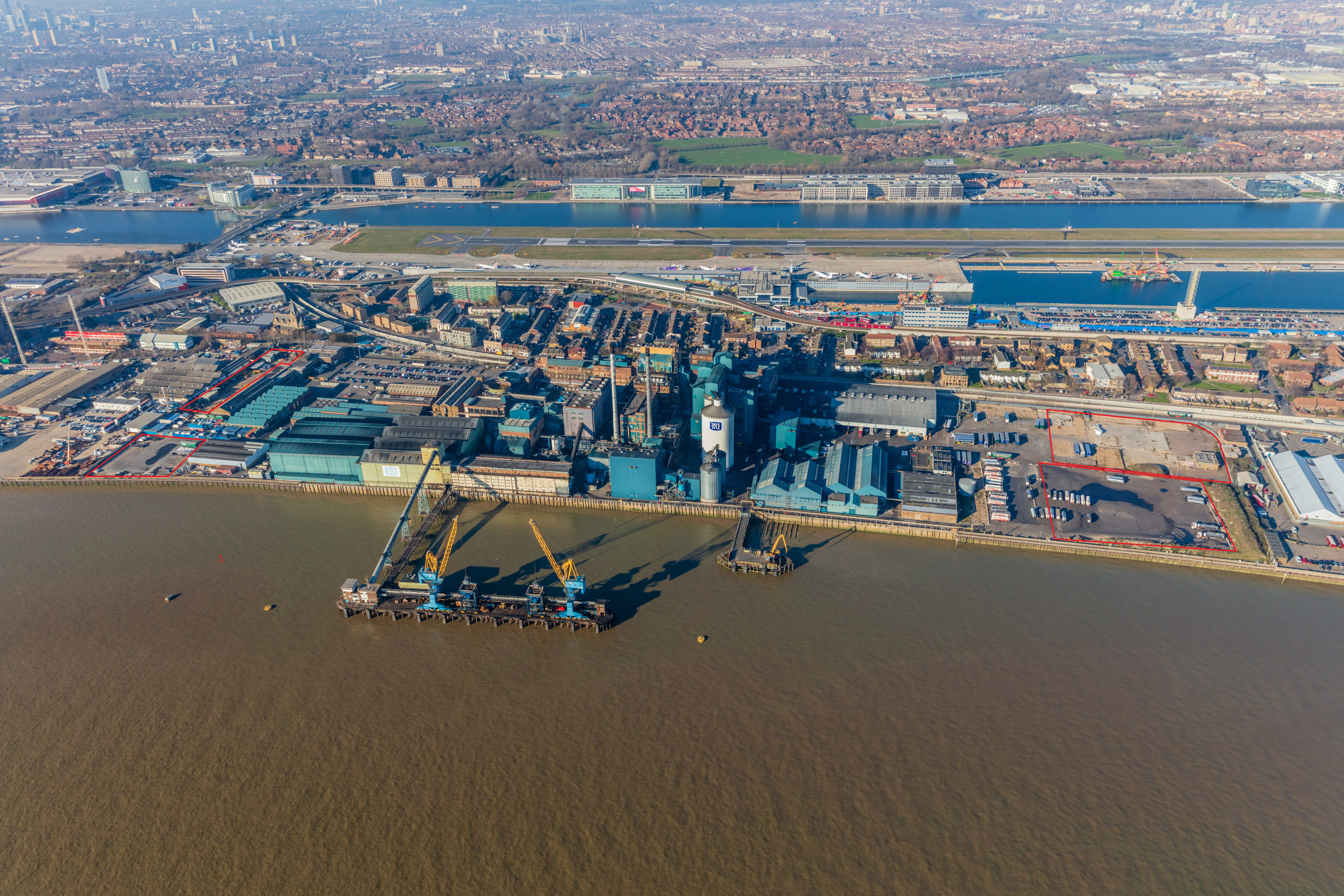 Glenny appointed to let land adjoining Tate & Lyle Sugars Thames Refinery