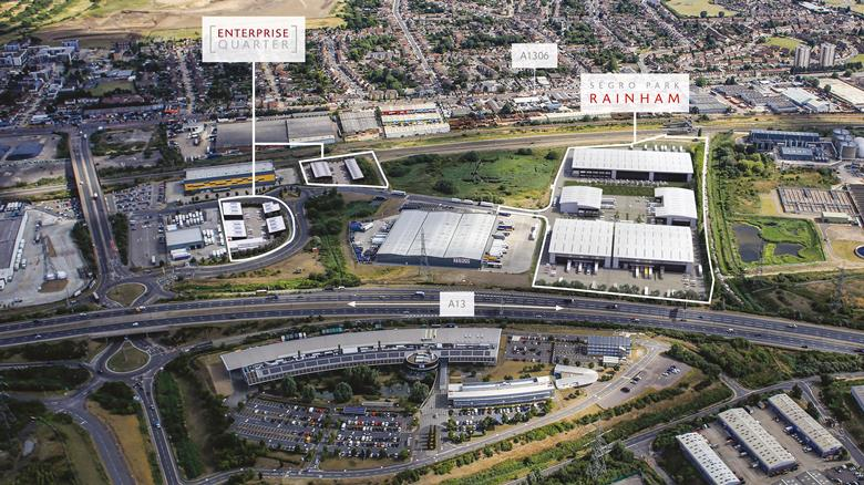 First large industrial letting secured at SEGRO Park Rainham