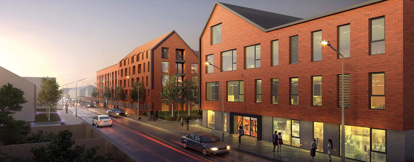 Glenny completes sale of Taylor Wimpey office block